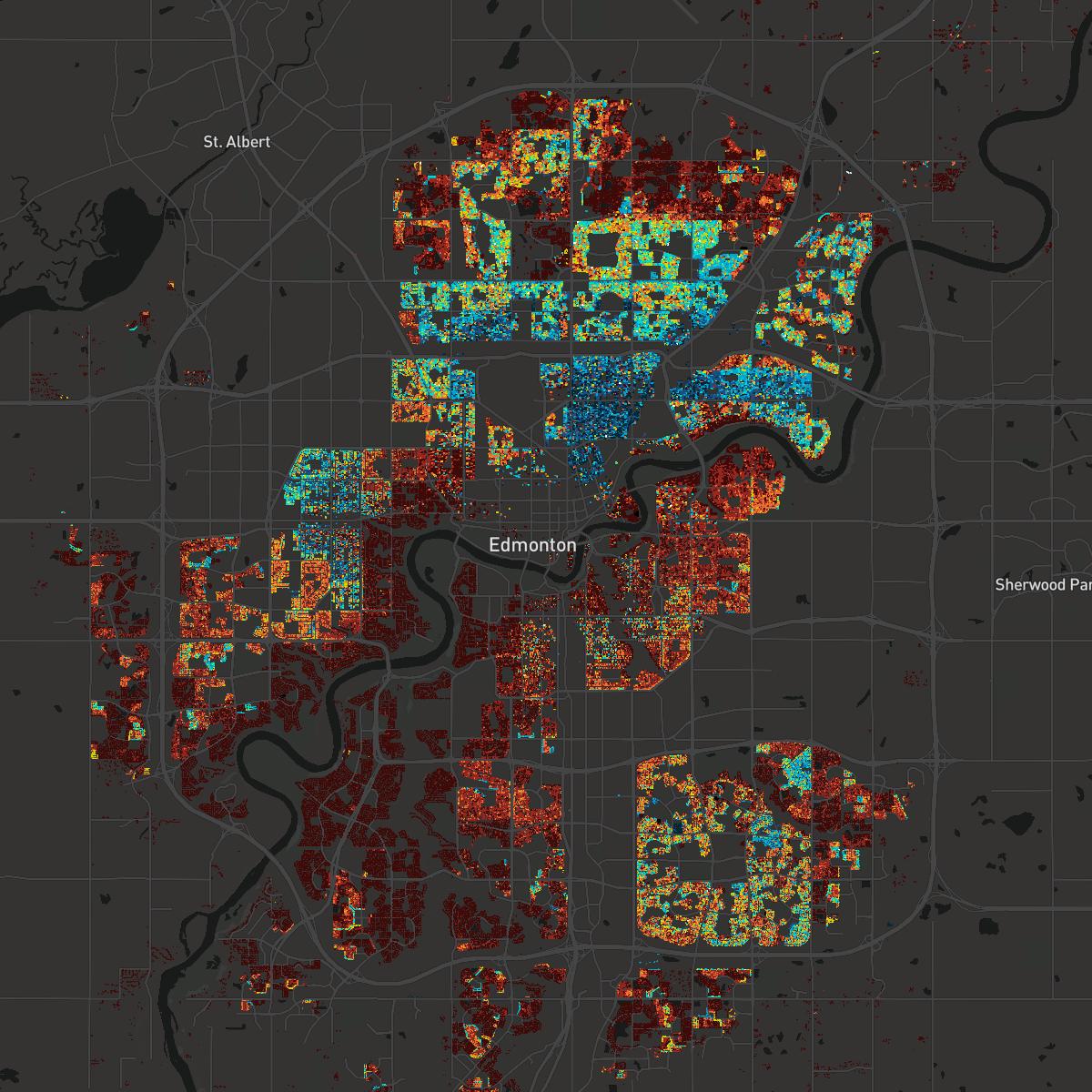 Edmonton Property Assessment Map Edmonton 2017 Property Assessments Edmonton Property Assessment Map